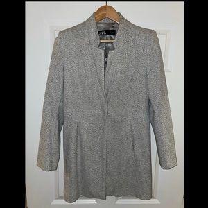 Zara gray coat